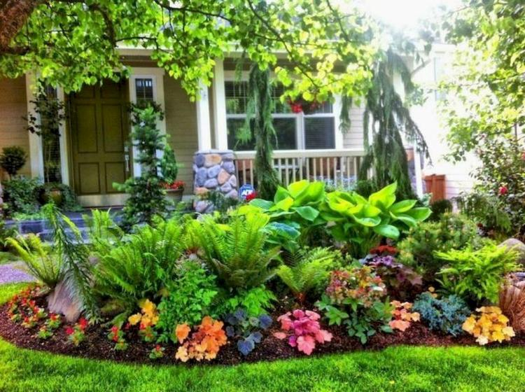 Front Yard Landscaping Decor Ideas