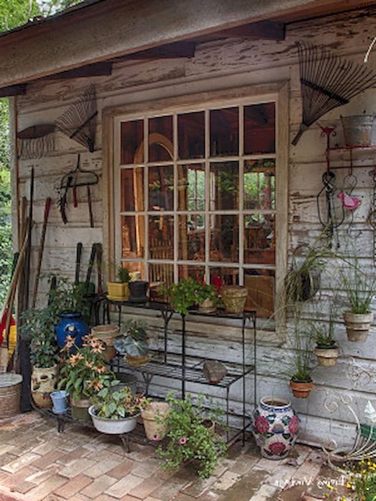 Clever Garden Shed Organization Ideas