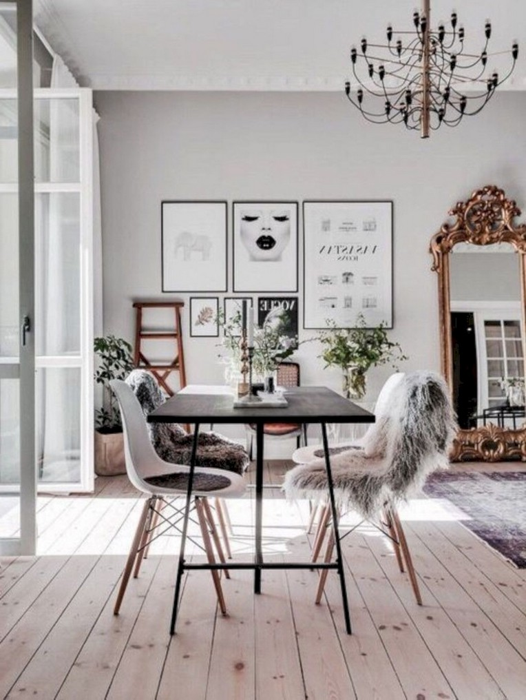 36 Beautiful Scandinavian Dining Room
