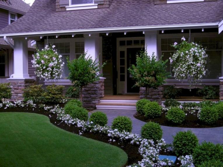 46 Beautiful Front Yard Path Walkway Design Ideas