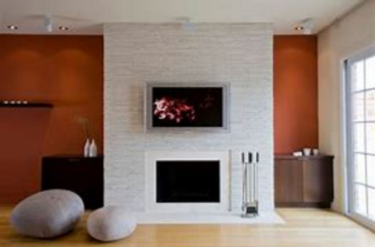 39 Amazing Contemporary Fireplace Design Ideas