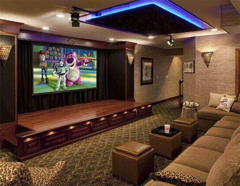 16 Simple Home Theater Design Ideas