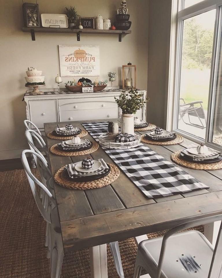 38 Amazing Farmhouse Dining Room Decor Ideas